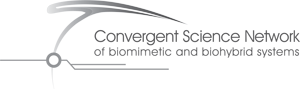 Convergent Science Network of biomimetic and biohybrid systems